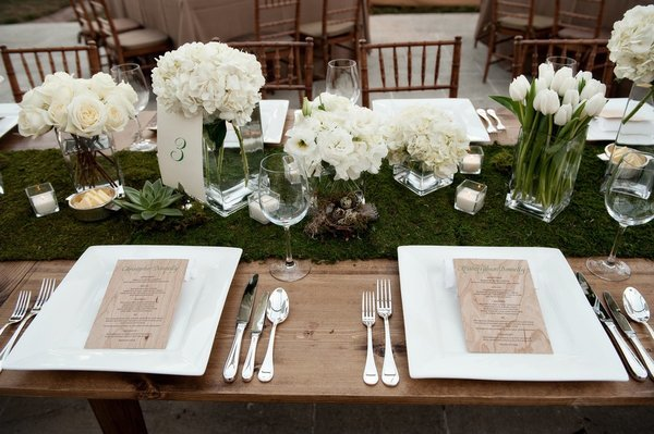 moss Non runner and  wedding Table – event Runners wedding Fabric table decor rental Ultrapom: