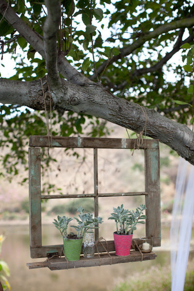 Garden Ideas with Old Windows